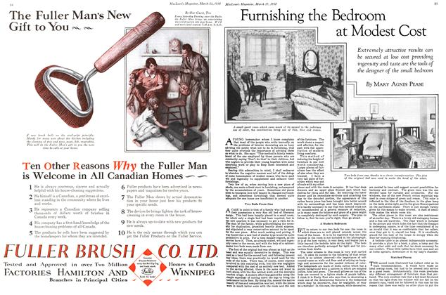 Article Preview: Furnishing the Bedroom at Modest Cost, March 1930 | Maclean's