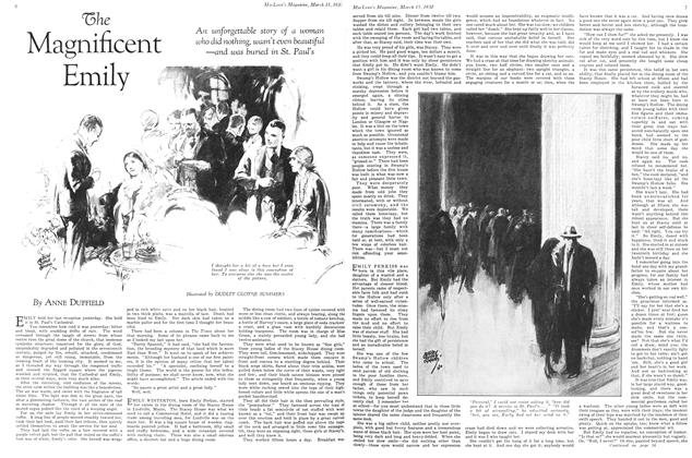Article Preview: The Magnificent Emily, March 1930 | Maclean's