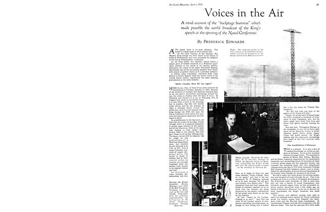 Article Preview: Voices in the Air, April 1930 | Maclean's