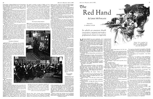 Article Preview: The Red Hand, April 1930 | Maclean's
