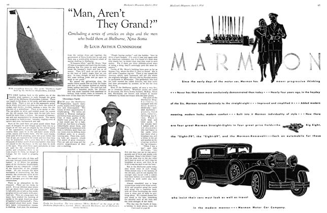 "Article Preview: ""Man, Aren't They Grand?"", April 1930 