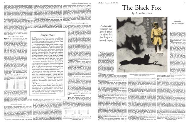 Article Preview: The Black Fox, April 1930 | Maclean's