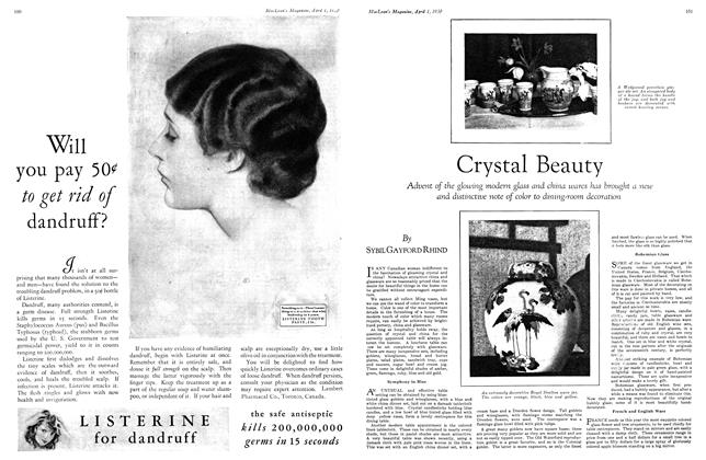 Article Preview: Crystal Beauty, April 1930 | Maclean's