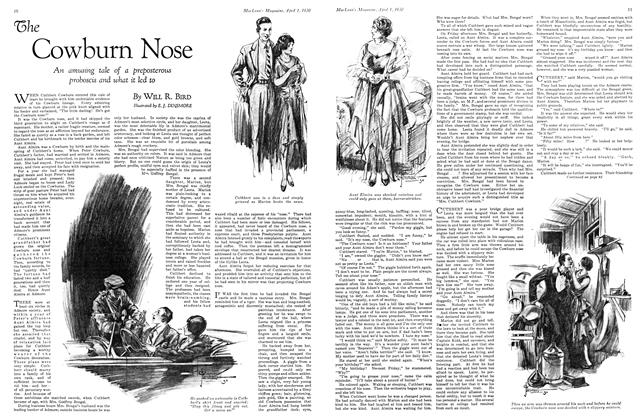 Article Preview: The Cowburn Nose, April 1930 | Maclean's