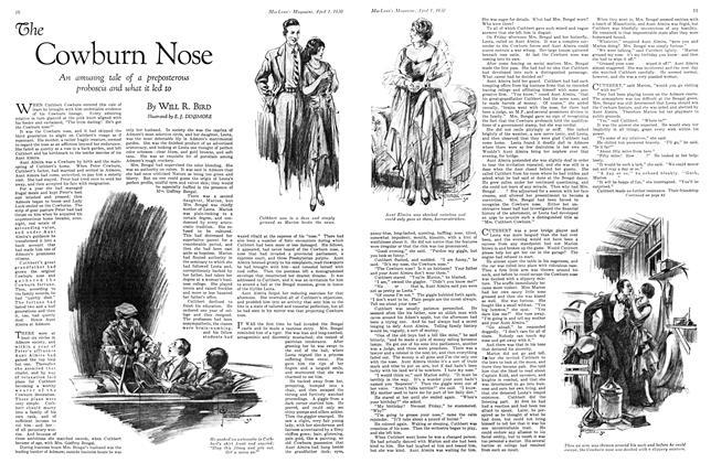 Article Preview: The Cowburn Nose, April 1930 | Maclean's