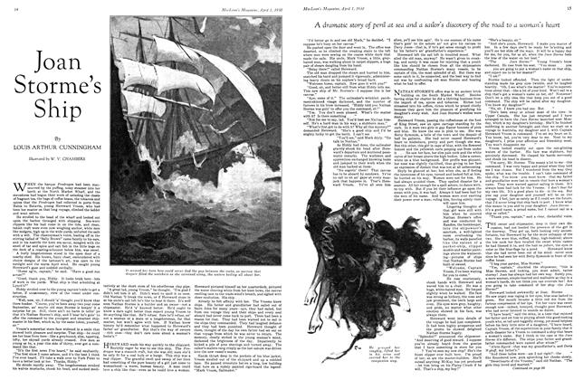 Article Preview: Joan Storme's Ship, April 1930 | Maclean's