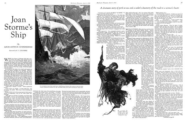 Article Preview: Joan Storme's Ship, April 1930 | Maclean's