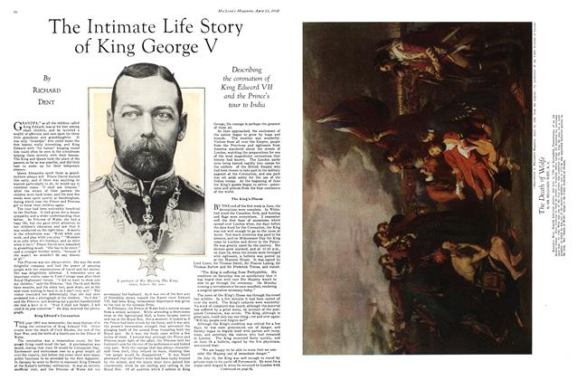 Article Preview: The Intimate Life Story of King George V, April 1930 | Maclean's