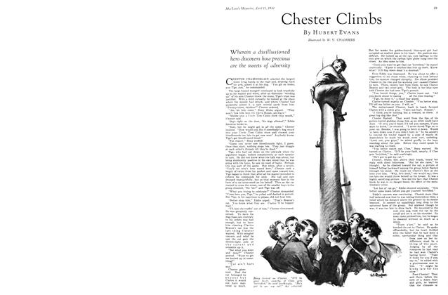 Article Preview: Chester Climbs, April 1930 | Maclean's