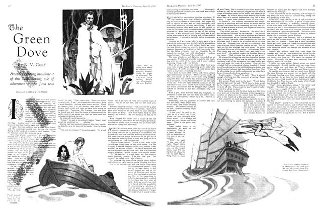 Article Preview: The Green Dove, April 1930 | Maclean's