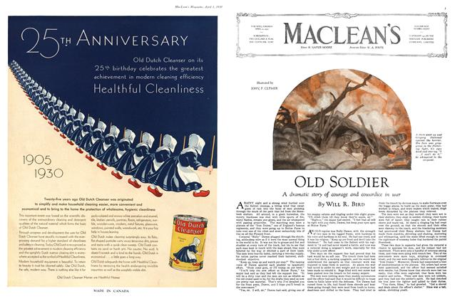 Article Preview: OLD SOLDIER, April 1930 | Maclean's