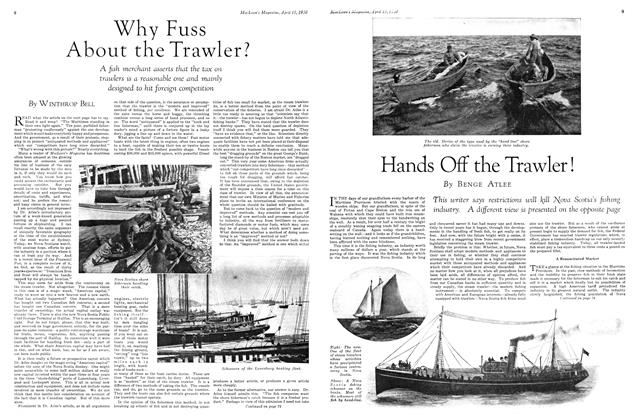 Article Preview: Hands Off the Trawler !, April 1930 | Maclean's
