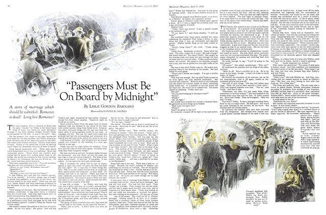 "Article Preview: ""Passengers Must Be On Board by Midnight"", April 1930 