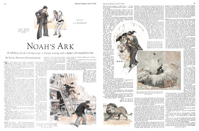 Article Preview: NOAH'S ARK, April 1930 | Maclean's