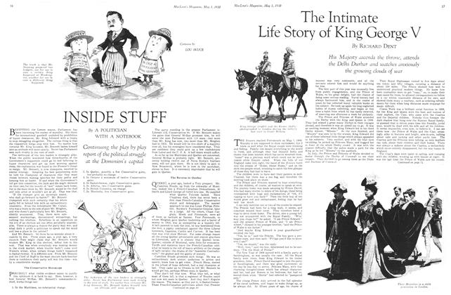 Article Preview: The Intimate Life Story of King George V, May 1930   Maclean's