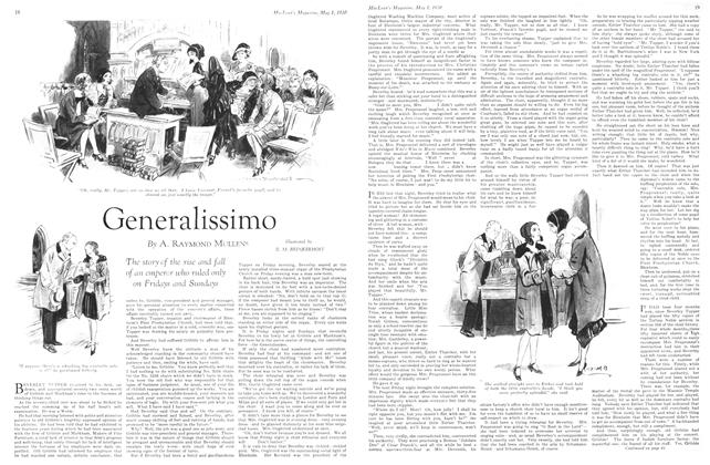 Article Preview: Generalissimo, May 1930 | Maclean's