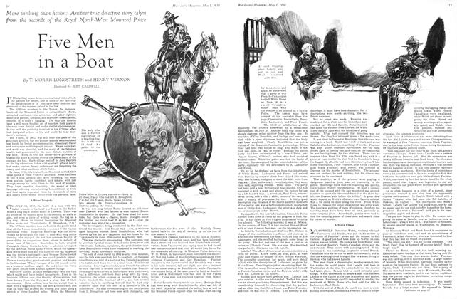 Article Preview: Five Men in a Boat, May 1930 | Maclean's