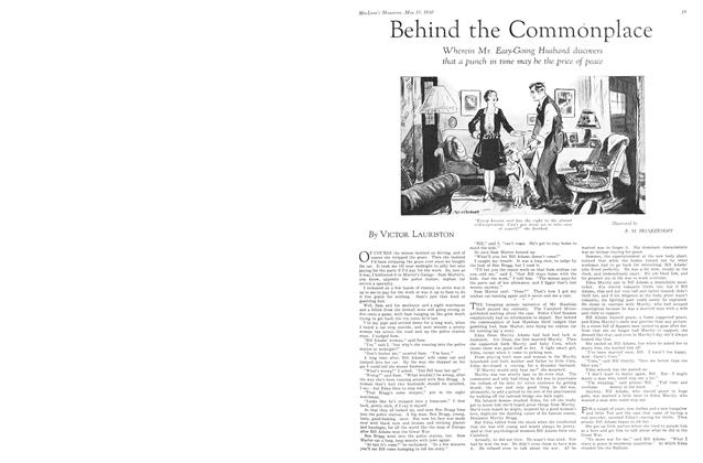Article Preview: Behind the Commonplace, May 1930 | Maclean's