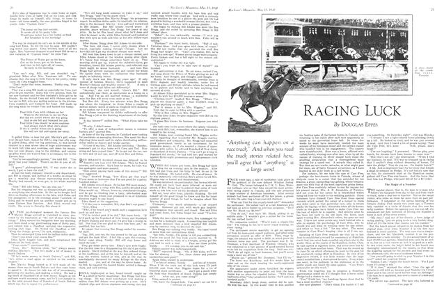 Article Preview: RACING LUCK, May 1930 | Maclean's