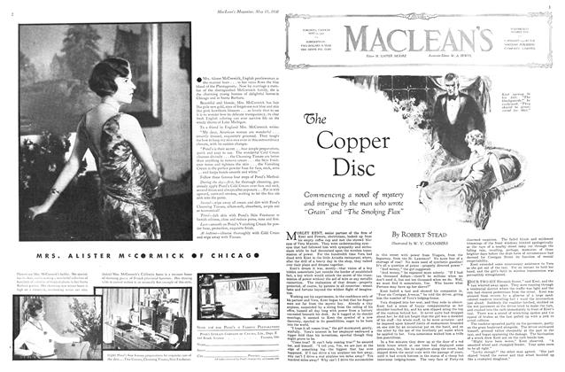 Article Preview: The Copper Disc, May 1930 | Maclean's