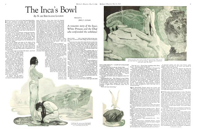 Article Preview: The Inca's Bowl, May 1930 | Maclean's