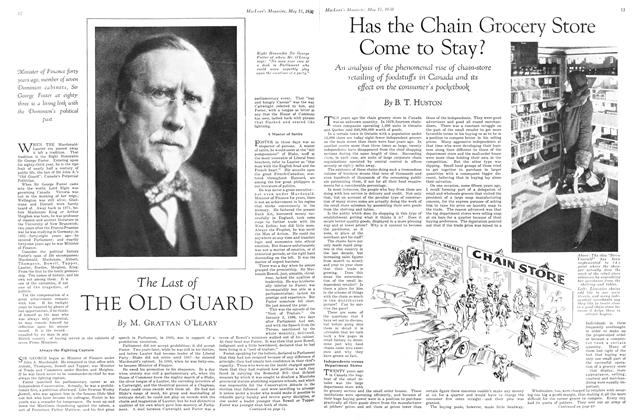Article Preview: The Last of THE OLD GUARD, May 1930 | Maclean's