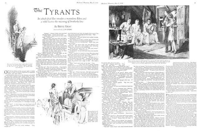 Article Preview: The TYRANTS, May 1930 | Maclean's