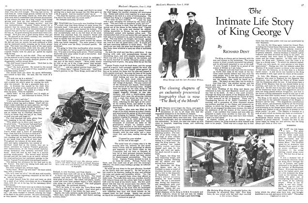 Article Preview: The Intimate Life Story of King George V, June 1st 1930 1930 | Maclean's