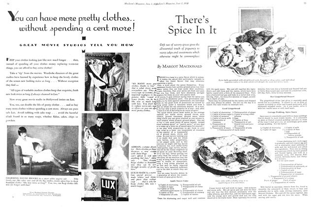 Article Preview: There's Spice In It, June 1st 1930 1930 | Maclean's