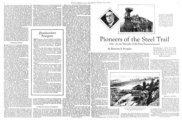 Article Preview: Pioneers of the Steel Trail, June 1st 1930 1930 | Maclean's