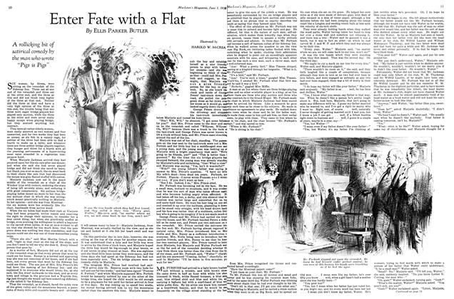 Article Preview: Enter Fate with a Flat, June 1st 1930 1930 | Maclean's