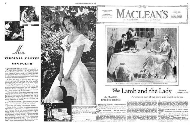 Article Preview: The Lamb and the Lady, June 1930 | Maclean's