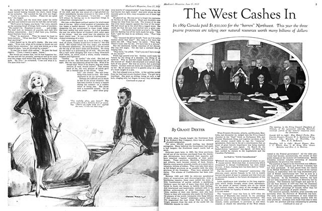 Article Preview: The West Cashes In, June 1930 | Maclean's