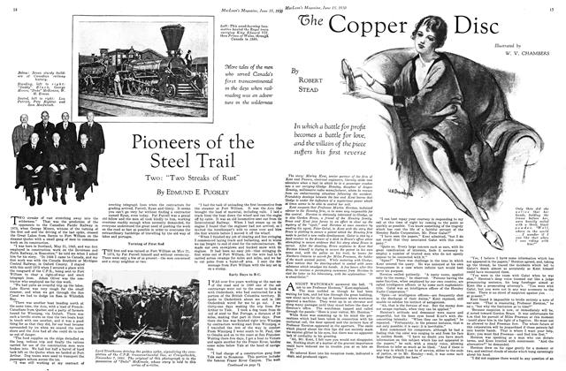 Article Preview: The Copper Disc, June 1930 | Maclean's