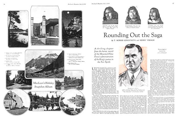 Article Preview: Rounding Out the Saga, July 1930 | Maclean's
