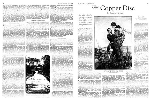 Article Preview: The Copper Disc, July 1930 | Maclean's