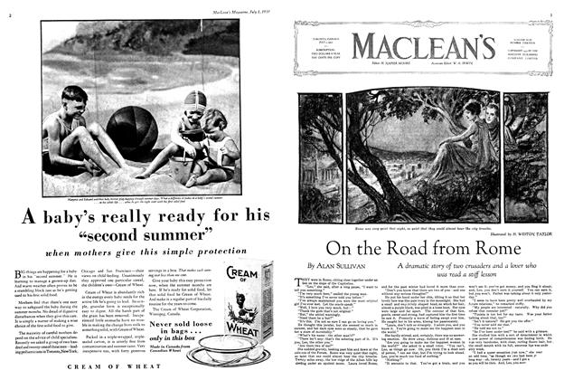 Article Preview: On the Road from Rome, July 1930 | Maclean's