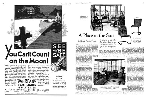 Article Preview: A Place in the Sun, July 1930 | Maclean's