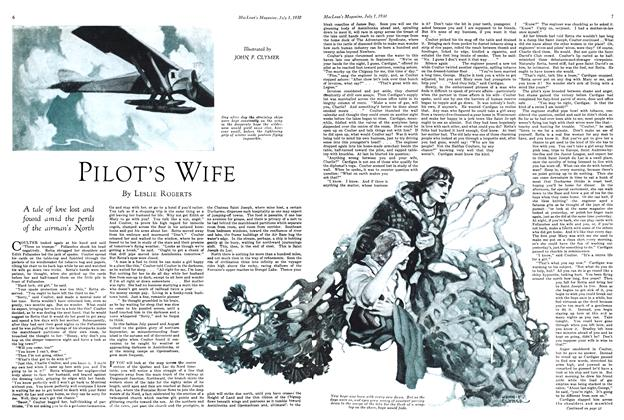 Article Preview: PILOT'S WIFE, July 1930 | Maclean's