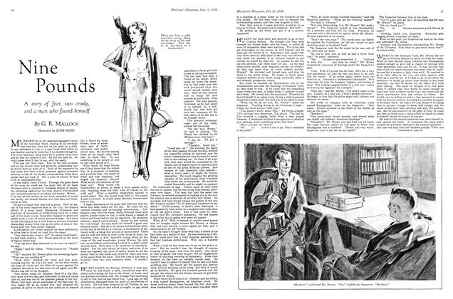 Article Preview: Nine Pounds, July 1930 | Maclean's
