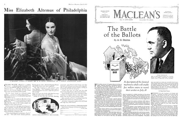 Article Preview: The Battle of the Ballots, July 1930 | Maclean's