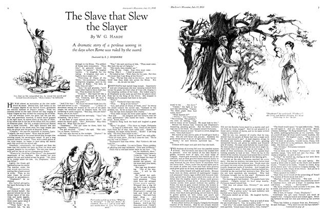 Article Preview: The Slave that Slew the Slayer, July 1930 | Maclean's