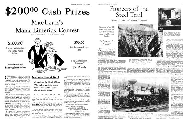 Article Preview: Pioneers of the Steel Trail, July 1930 | Maclean's