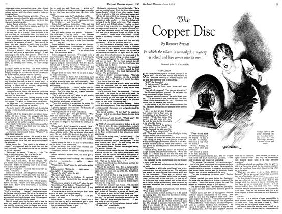 Article Preview: Copper Disc, August 1930 | Maclean's