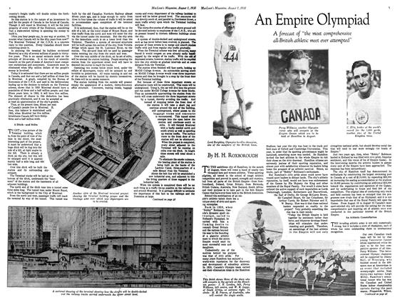 Article Preview: An Empire Olympiad, August 1930 | Maclean's