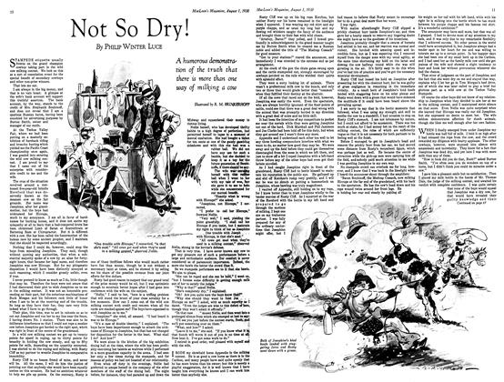 Article Preview: Not So Dry!, August 1930 | Maclean's