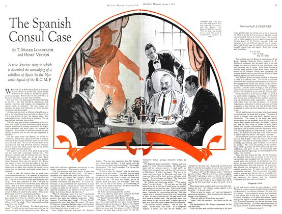 Article Preview: The Spanish Consul Case, August 1930 | Maclean's