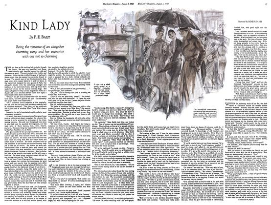 Article Preview: KIND LADY, August 1930 | Maclean's
