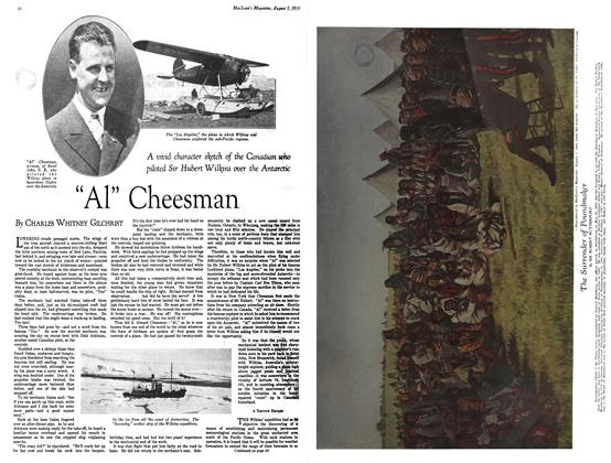 "Article Preview: ""Al"" Cheesman, August 1930 