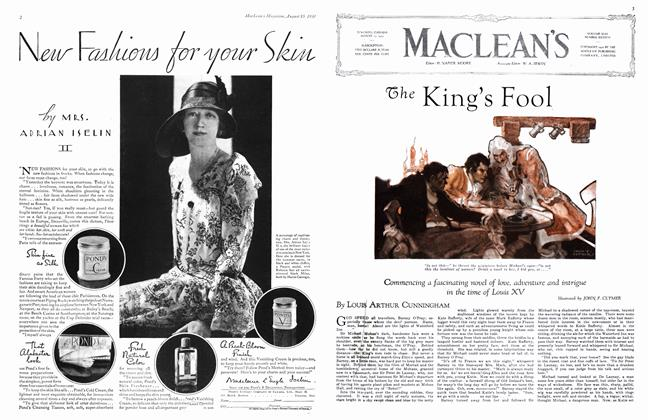 Article Preview: The King's Fool, August 1930 | Maclean's